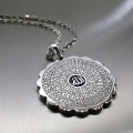 Esmaül Hüsna Papatya Gümüş Kolye, Allahın 99 İsmi Kolye