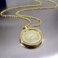 Esmaül Hüsna Allahın İsimleri Zirkon Taşlı Gümüş Kolye