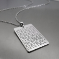 Ayetel Kürsi Vefki Gümüş Kolye
