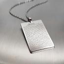 Hırz Ayetleri Gümüş Kolye