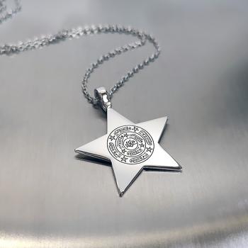 Celcelutiye Yıldız Gümüş Kolye